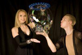 Шоу мыльных пузырей рекордсменов России