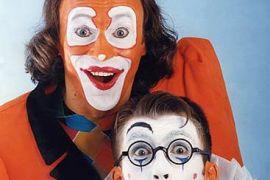 Клоуны-мимы с программой «Школа Клоунов»