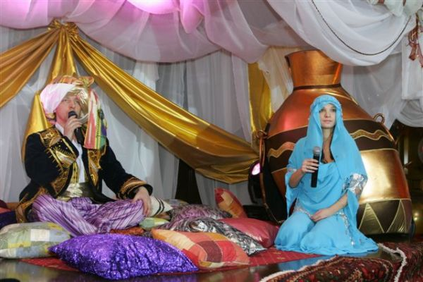 детские праздники, мастер классы - Приключения Алладина и принцессы Жасмин